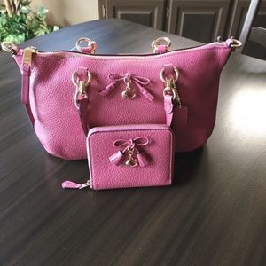 Coach Bag and Wallet Matching Set Mini Ally